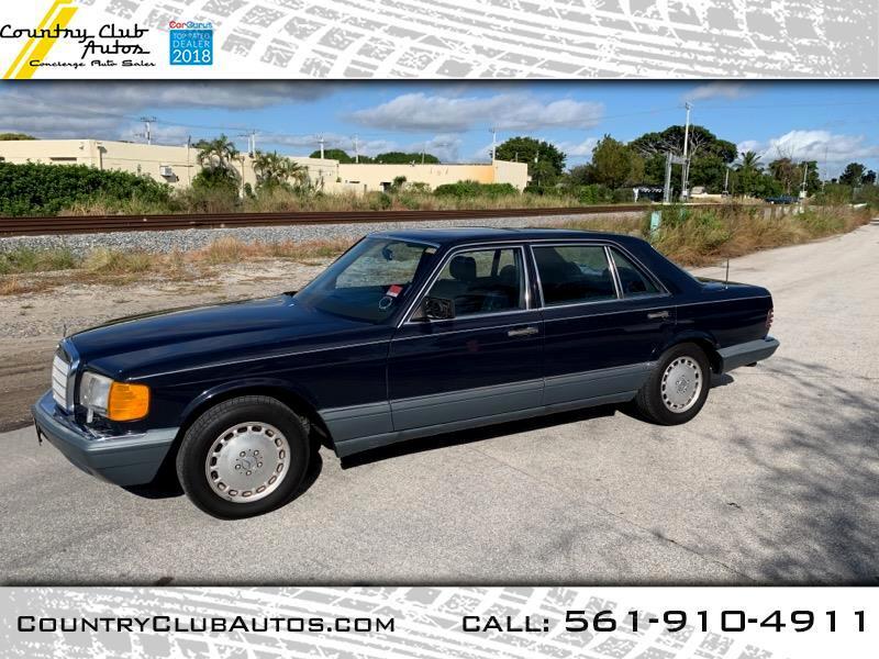 1988 Mercedes-Benz 300 SEL sedan