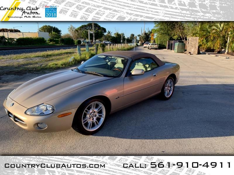 2001 Jaguar XK-Series XK8 Convertible