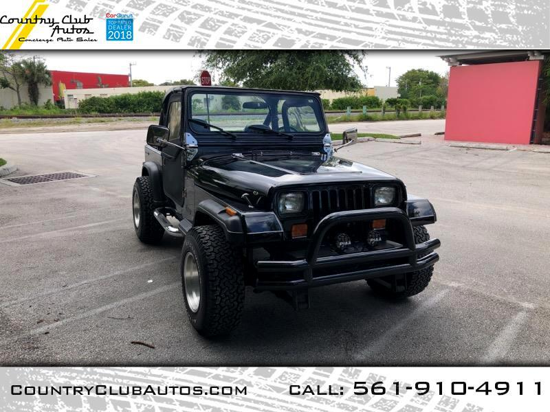 1987 AMC Wrangler Base