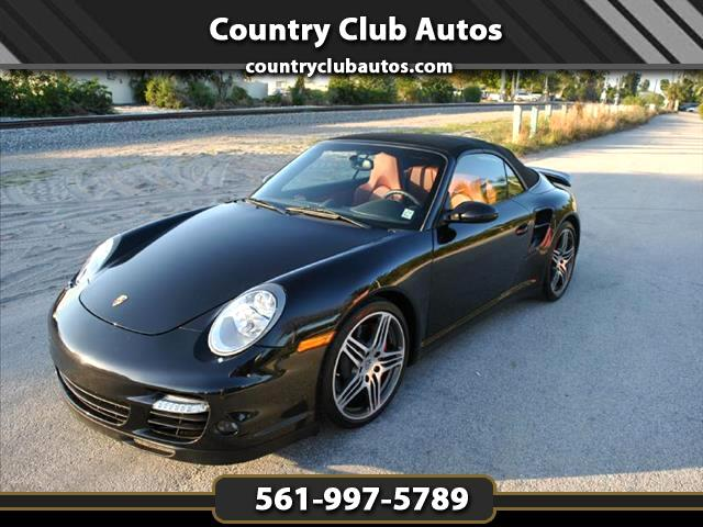 2008 Porsche 911 Turbo Cabriolet
