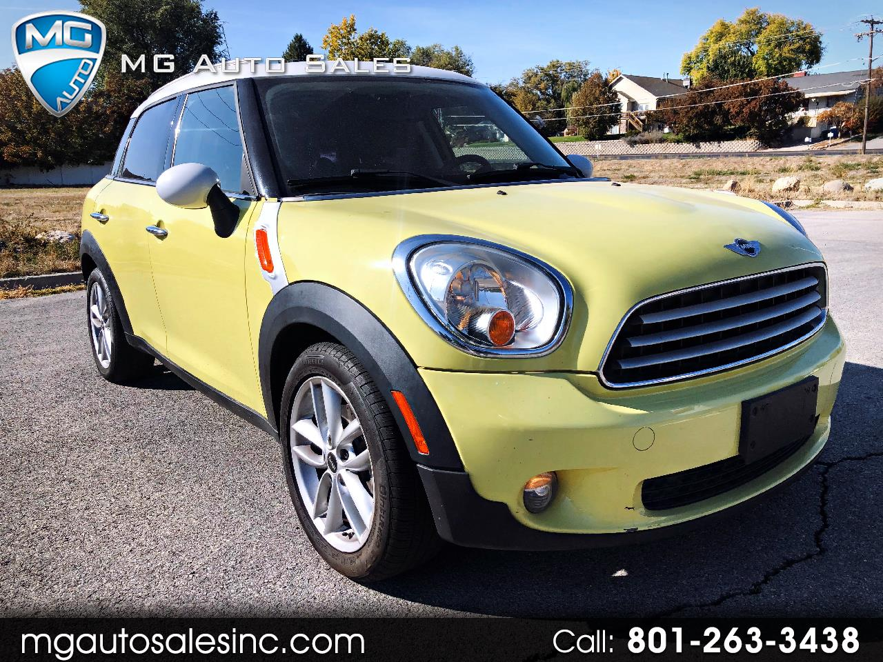 2011 MINI Countryman Base