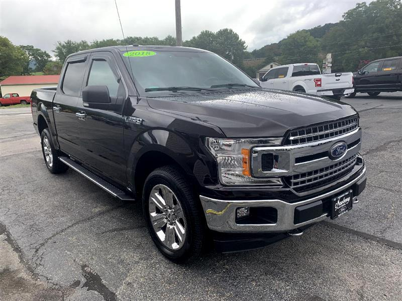 Ford 150 XL SuperCrew 5.5-ft. Bed 4WD 2018
