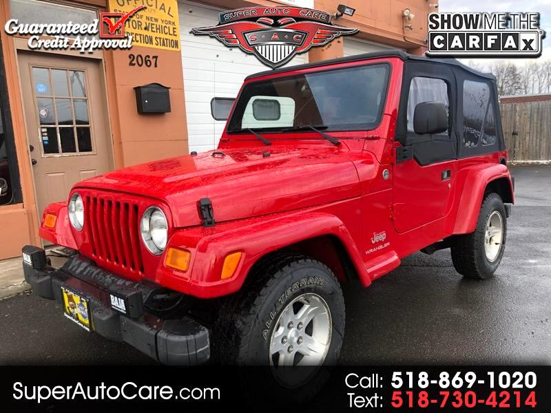 2005 Jeep Wrangler 4WD 2dr Mountain