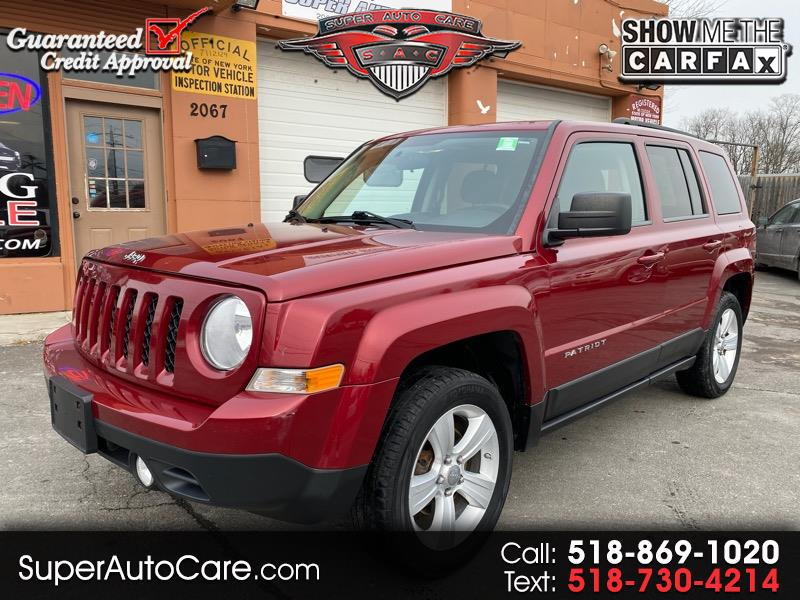 Jeep Patriot 4WD 4dr Latitude 2012