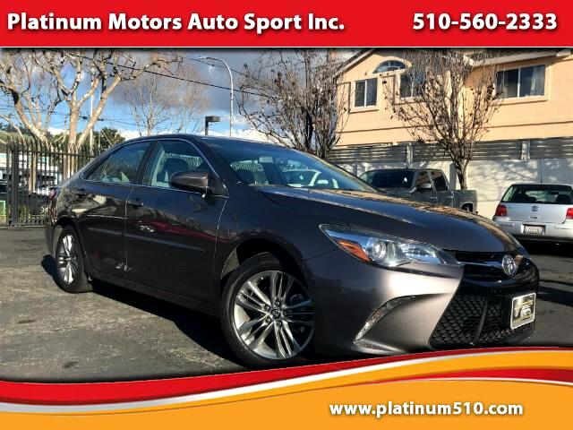 2015 Toyota Camry SE 1 CA Owner Like New We Finance Call Or Text US