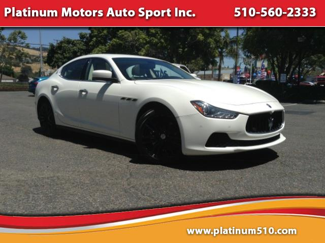 2015 Maserati Ghibli ~ L@@K ~1 CA Owner ~ Sport PKG ~ We Finance ~ Call