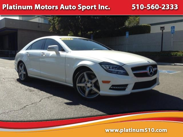 2014 Mercedes-Benz CLS-Class CLS 550 ~ L@@K ~ AMG Sport PKG ~ White On Black ~