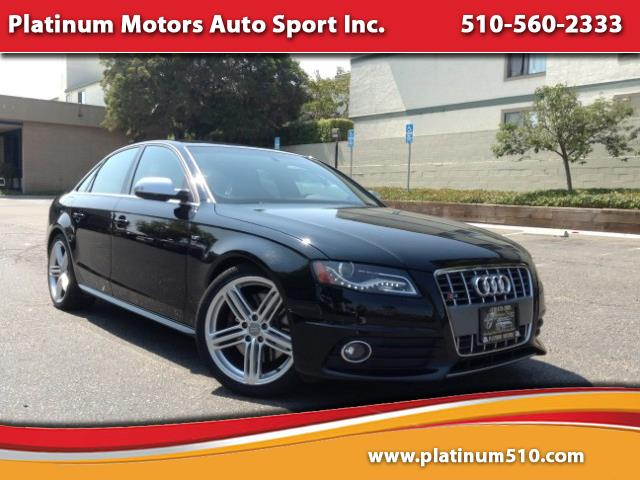 2010 Audi S4 L@@K ~ Like New ~ Black/Red ~ 63K Miles