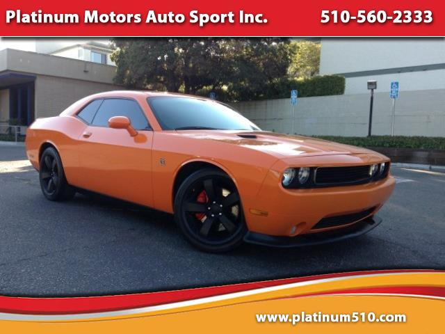 2012 Dodge Challenger SRT8 ~ L@@K ~ Orange/Black ~ 6Spd ~ Navi