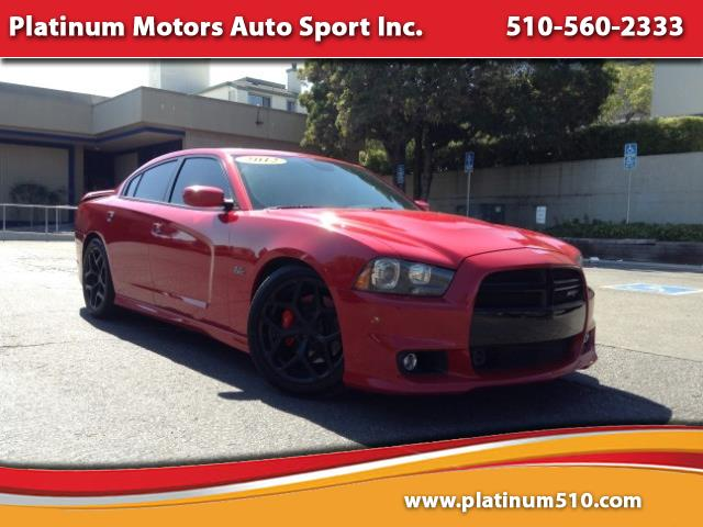 2012 Dodge Charger SRT8 ~ L@@K ~ 6.4 Hemi Engine ~ Red/Black
