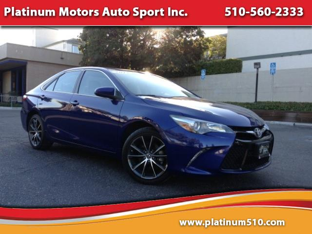 2015 Toyota Camry XSE ~ L@@K ~ One Owner ~ Like New ~ Blue/Black