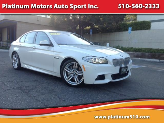 2013 BMW 5-Series L@@K ~ M-Sport PKG ~ White/Ebony ~ We Finance ~