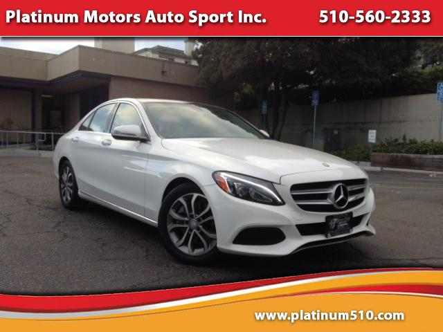 2016 Mercedes-Benz C-Class C300 ~ Like New ~ White On Tan ~ We Finance