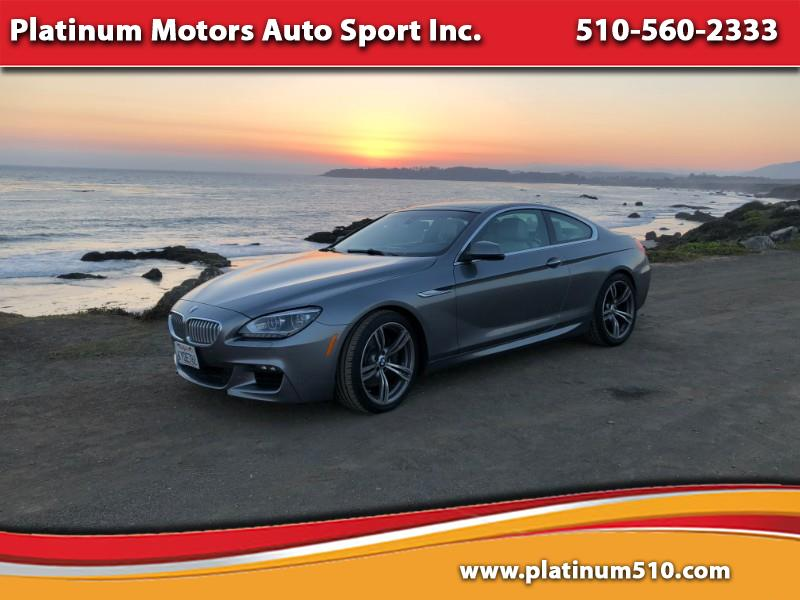 2012 BMW 6-Series 650I COUPE M PACKAGE
