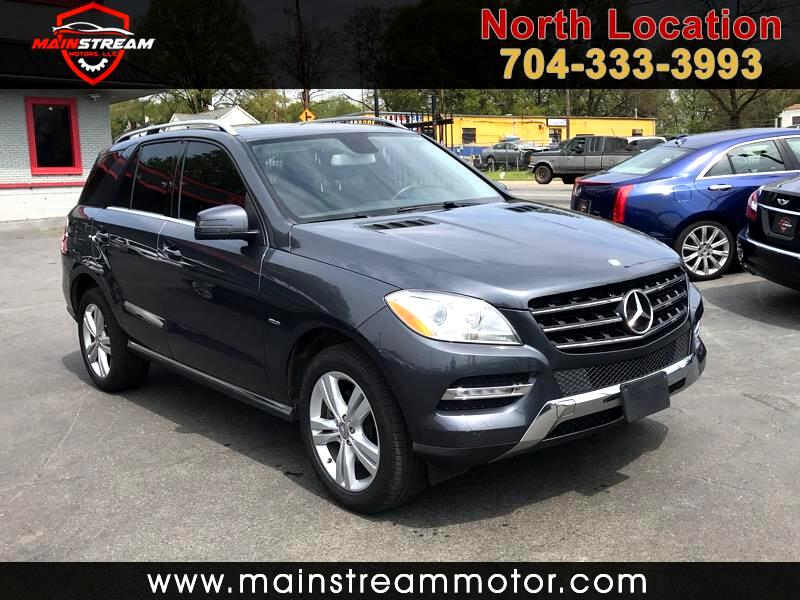 Used 2012 Mercedes Benz M Class Ml350 4matic For Sale In Charlotte