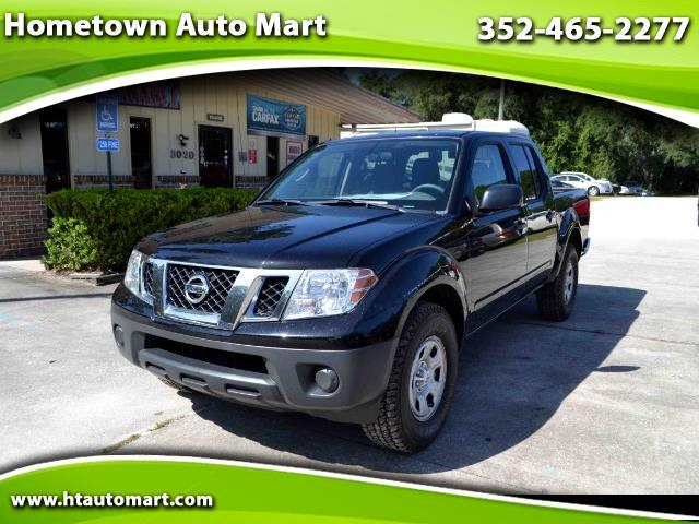 used 2015 nissan frontier s crew cab 5at 2wd for sale in dunnellon fl 34433 hometown auto mart. Black Bedroom Furniture Sets. Home Design Ideas