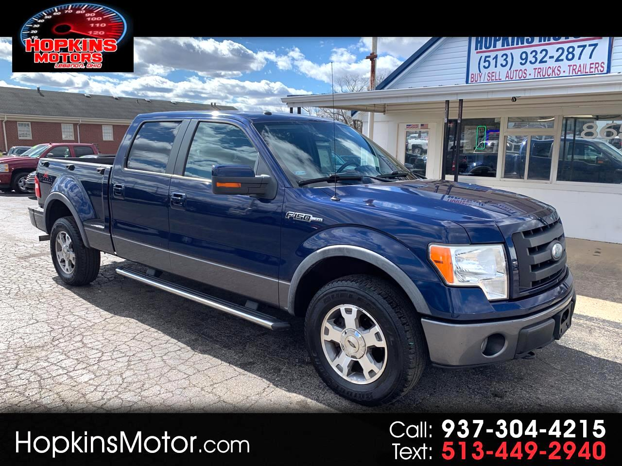 "2009 Ford F-150 4WD SuperCrew Flareside 157"" FX4"