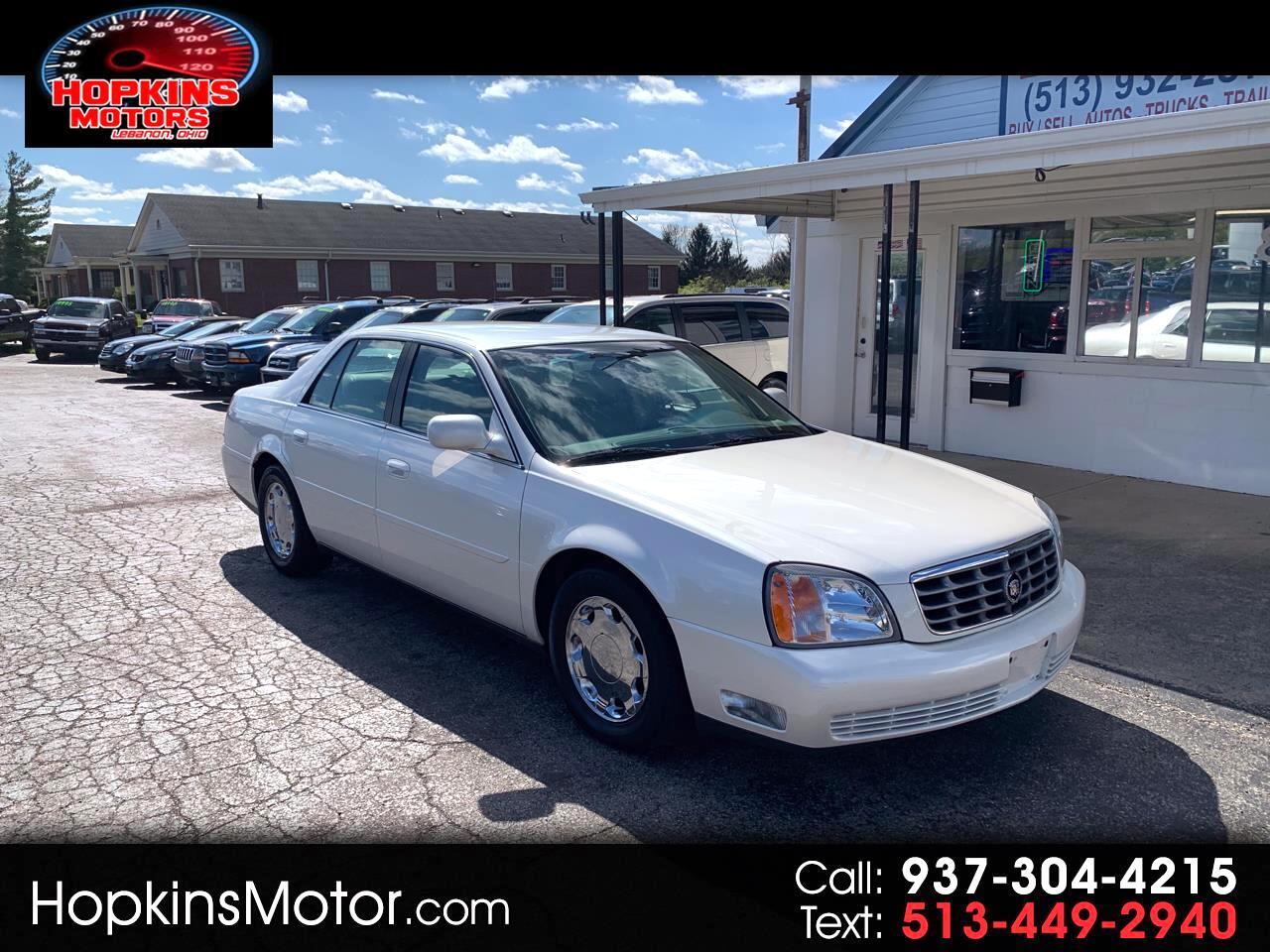 2000 Cadillac DeVille DHS 4dr Sdn