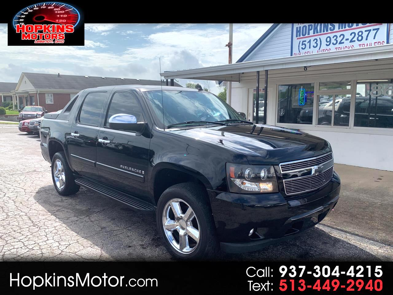 "2007 Chevrolet Avalanche 4WD Crew Cab 130"" LT w/3LT"