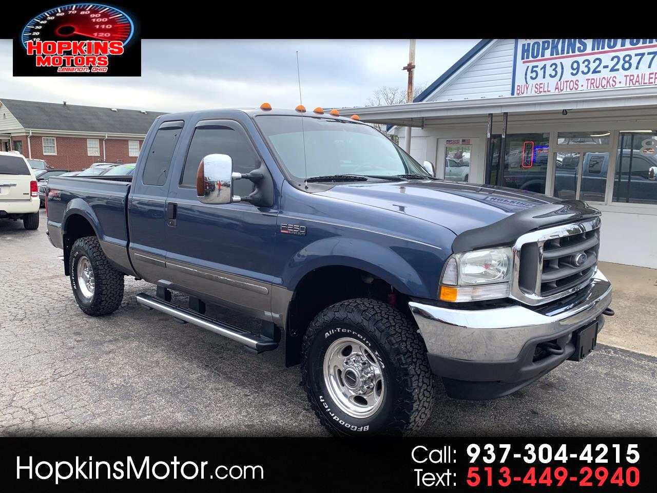 """2004 Ford Super Duty F-250 Supercab 142"""" Lariat 4WD"""