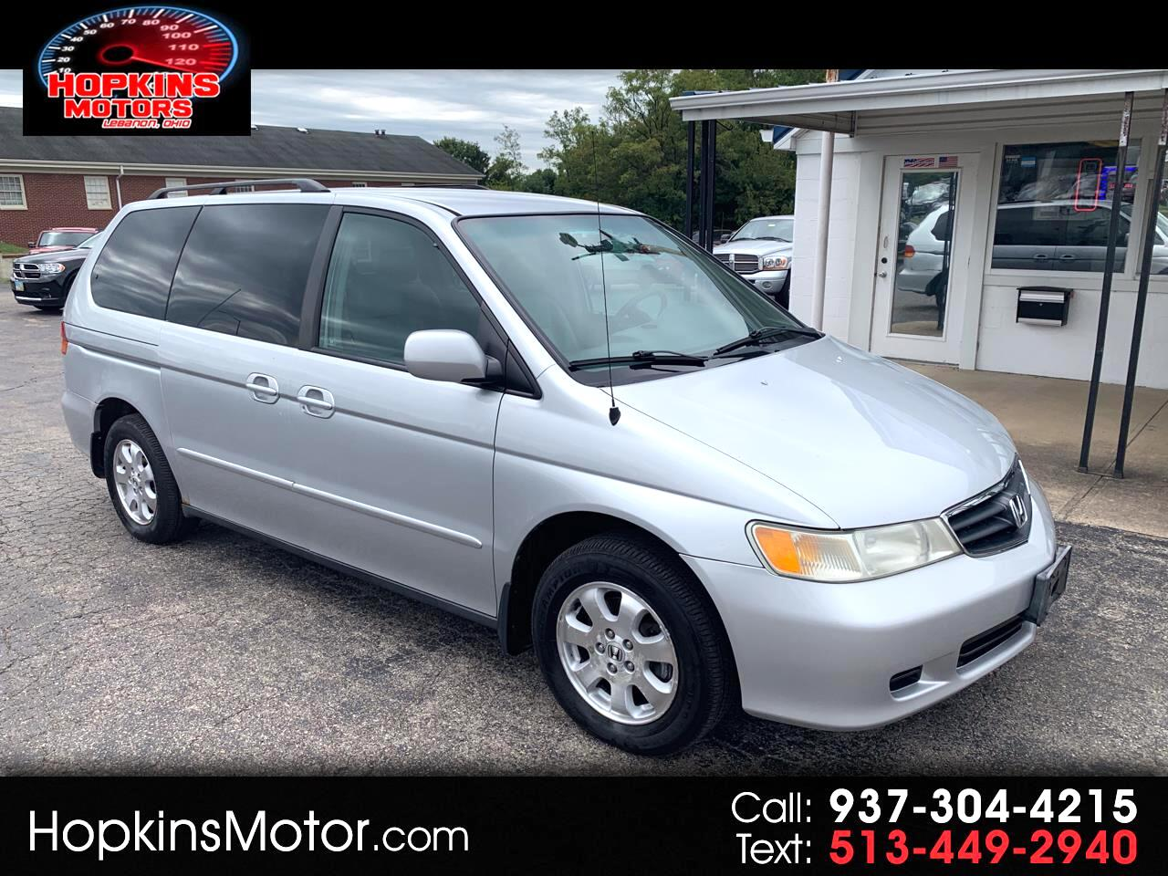 2004 Honda Odyssey 5dr EX-L RES w/DVD/Leather