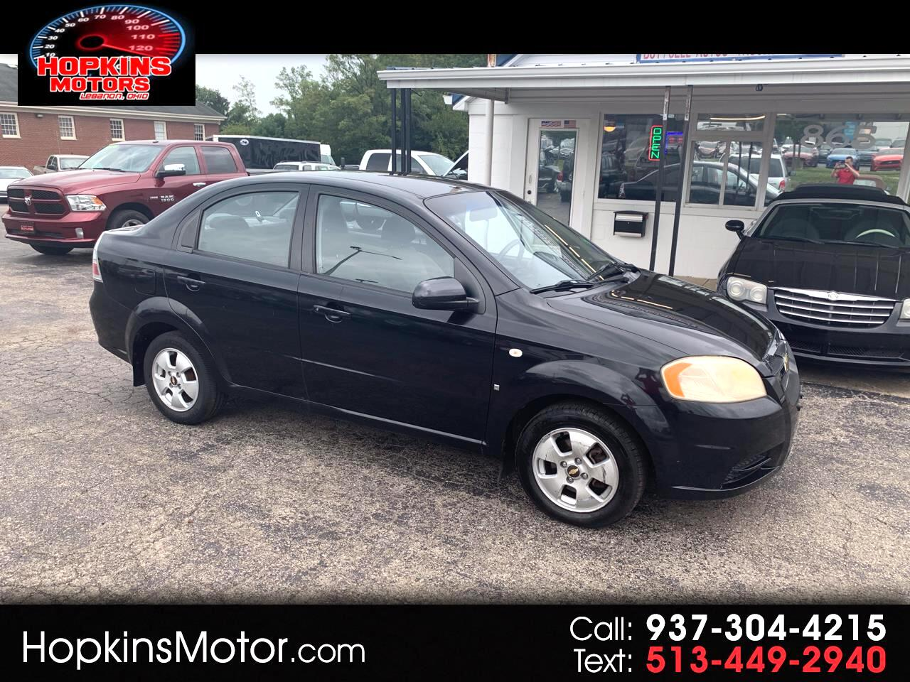 2007 Chevrolet Aveo 4dr Sdn LS