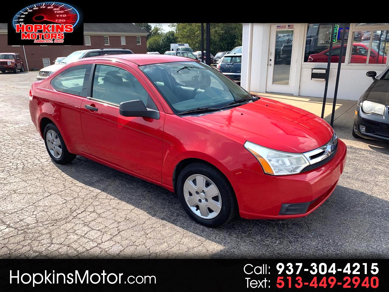 2008 Ford Focus 2dr Cpe S