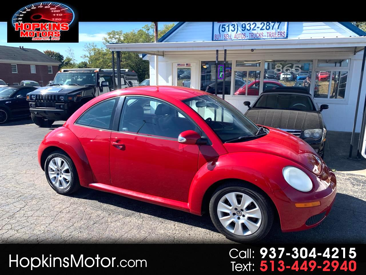 2008 Volkswagen New Beetle Coupe 2dr Man S
