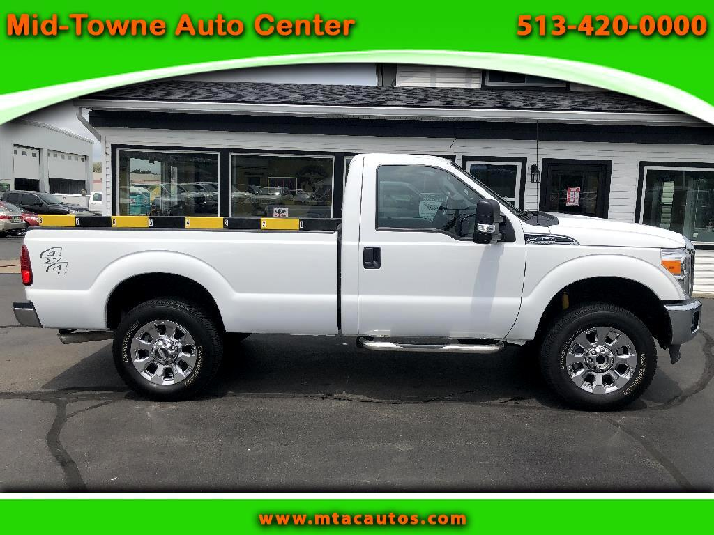 2013 Ford F-250 SD XLT 4WD