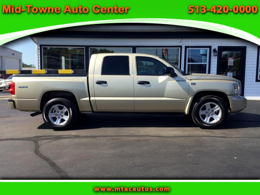 2011 Dodge Dakota SLT Big Horn Crew Cab 4WD