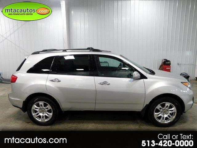 Acura MDX Tech Package with Rear DVD System 2007