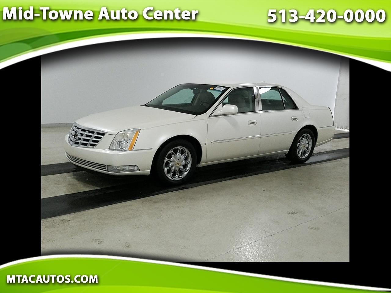 Cadillac DTS 4dr Sdn w/1SA 2009