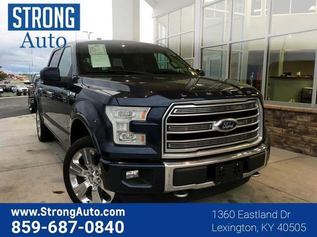 2016 Ford F-150 4WD SUPERCREW 145  LIMITE