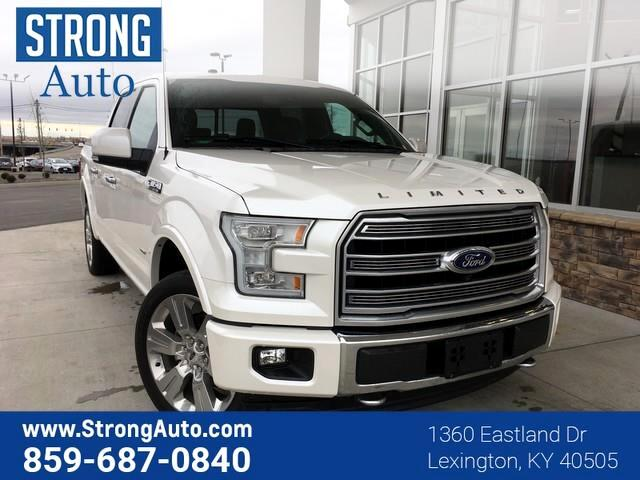 2017 Ford F-150 LIMITED 4WD SUPERCREW 5.5