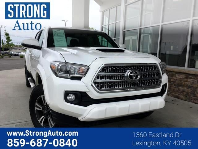 2016 Toyota Tacoma 4WD DOUBLE CAB LB V6 AT T