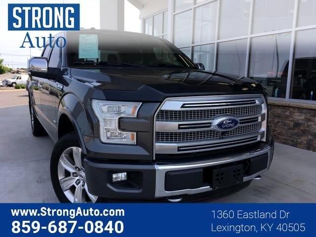 2015 Ford F-150 4WD SUPERCREW 145  PLATIN