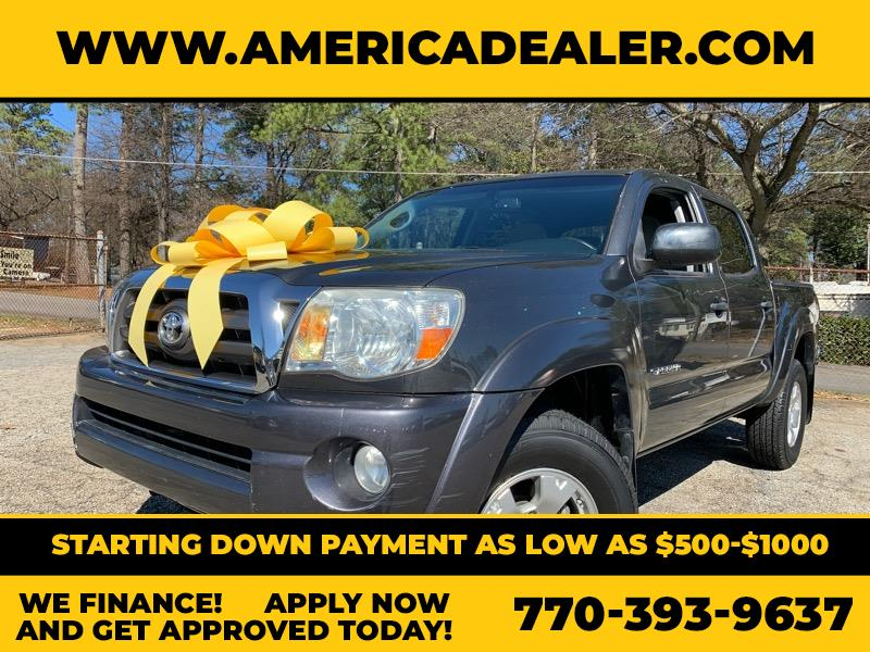 Toyota Tacoma 2WD TRD Sport Double Cab 6' Bed V6 AT (Natl) 2010