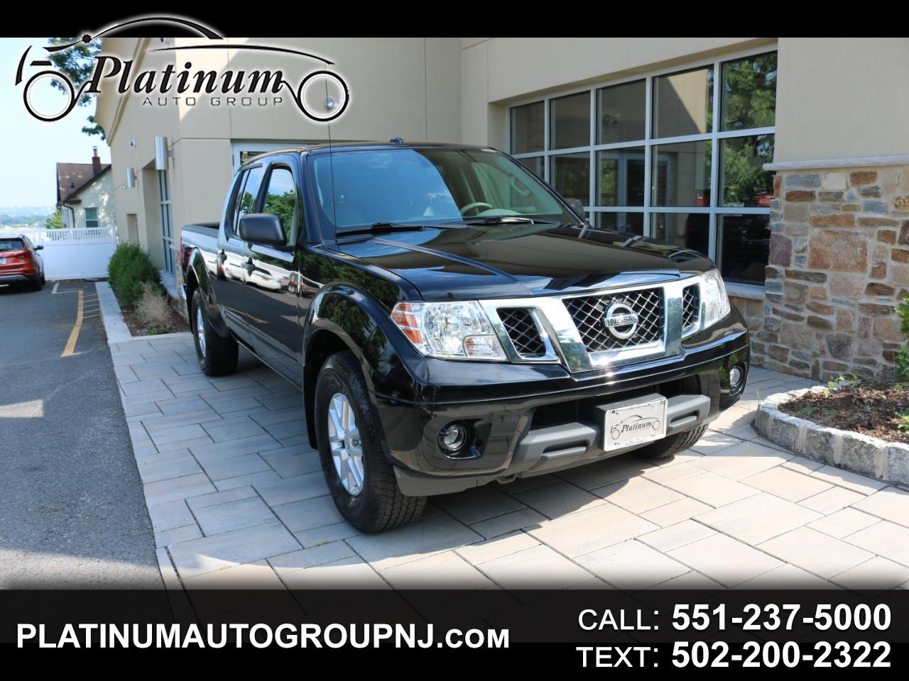 2014 Nissan Frontier 4WD Crew Cab LWB Auto SV