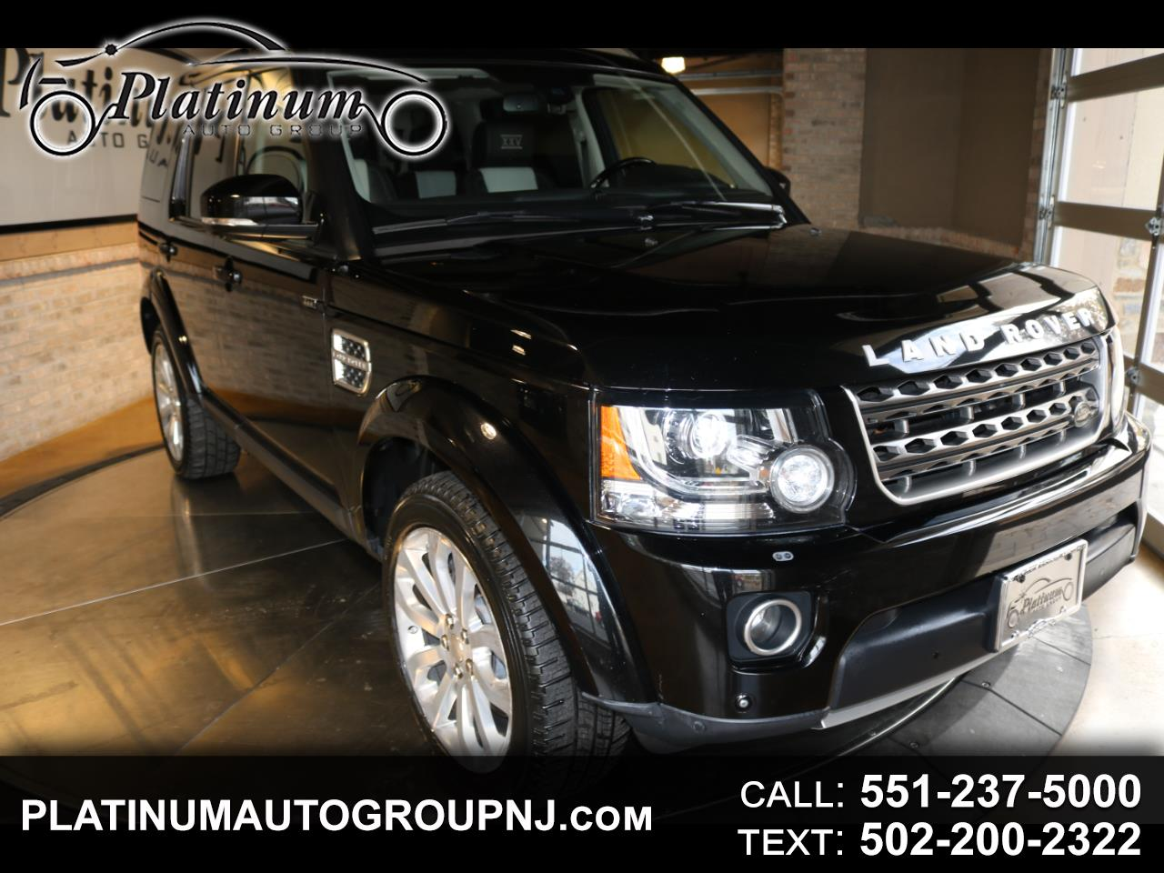 Land Rover LR4 4WD 4dr LUX Limited Edition 2014