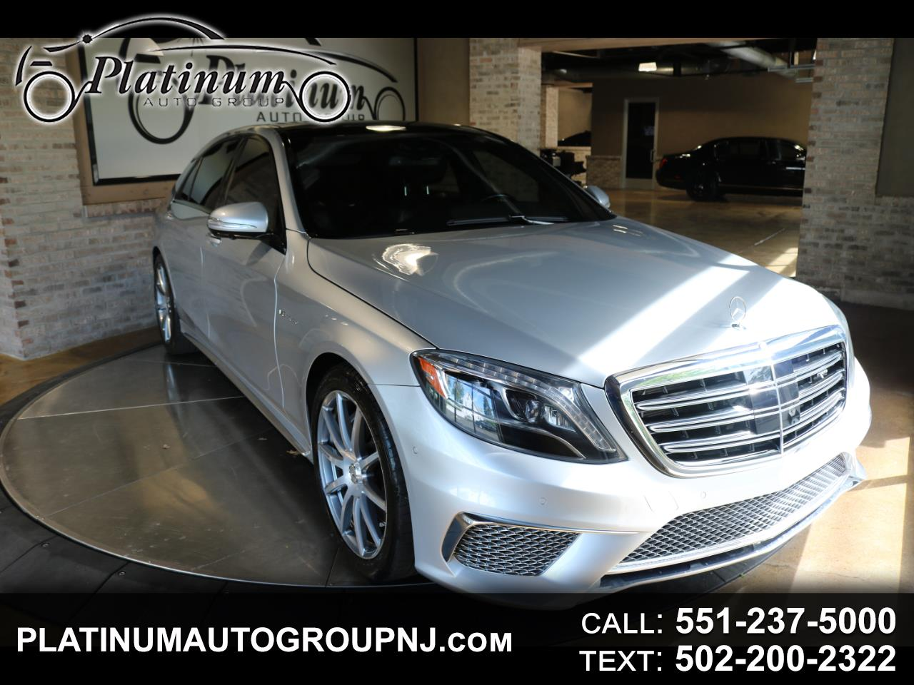 Mercedes-Benz S-Class 4dr Sdn S 63 AMG 4MATIC 2014