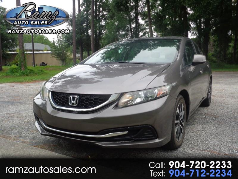 2013 Honda Civic EX Sedan 5-Speed AT