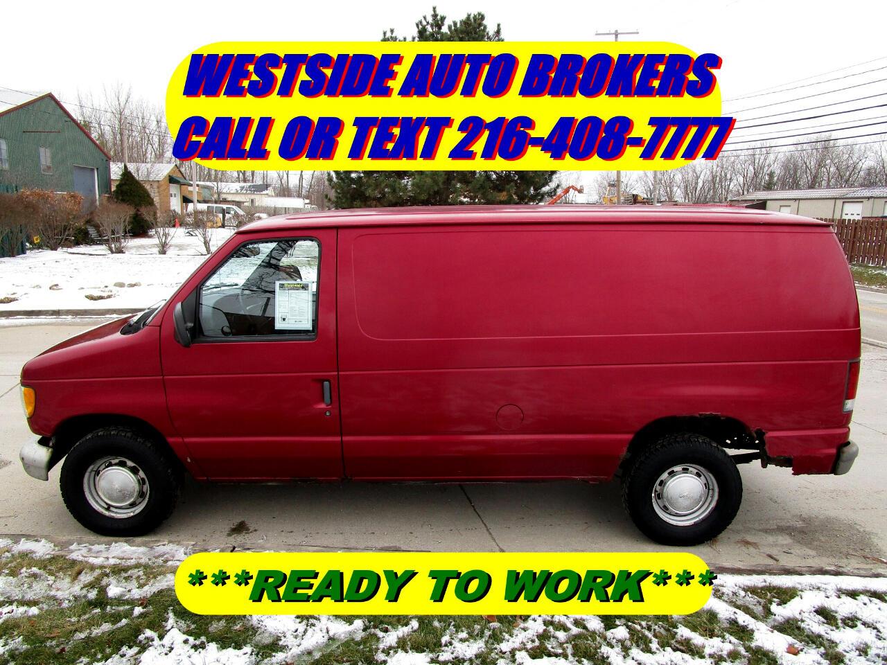 "1995 Ford Econoline Cargo Van E-150 138"" WB"