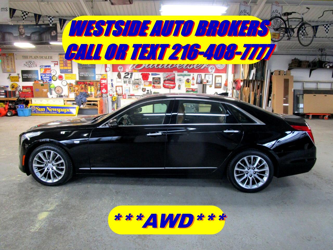 Cadillac CT6 4dr Sdn 3.6L Luxury AWD 2016