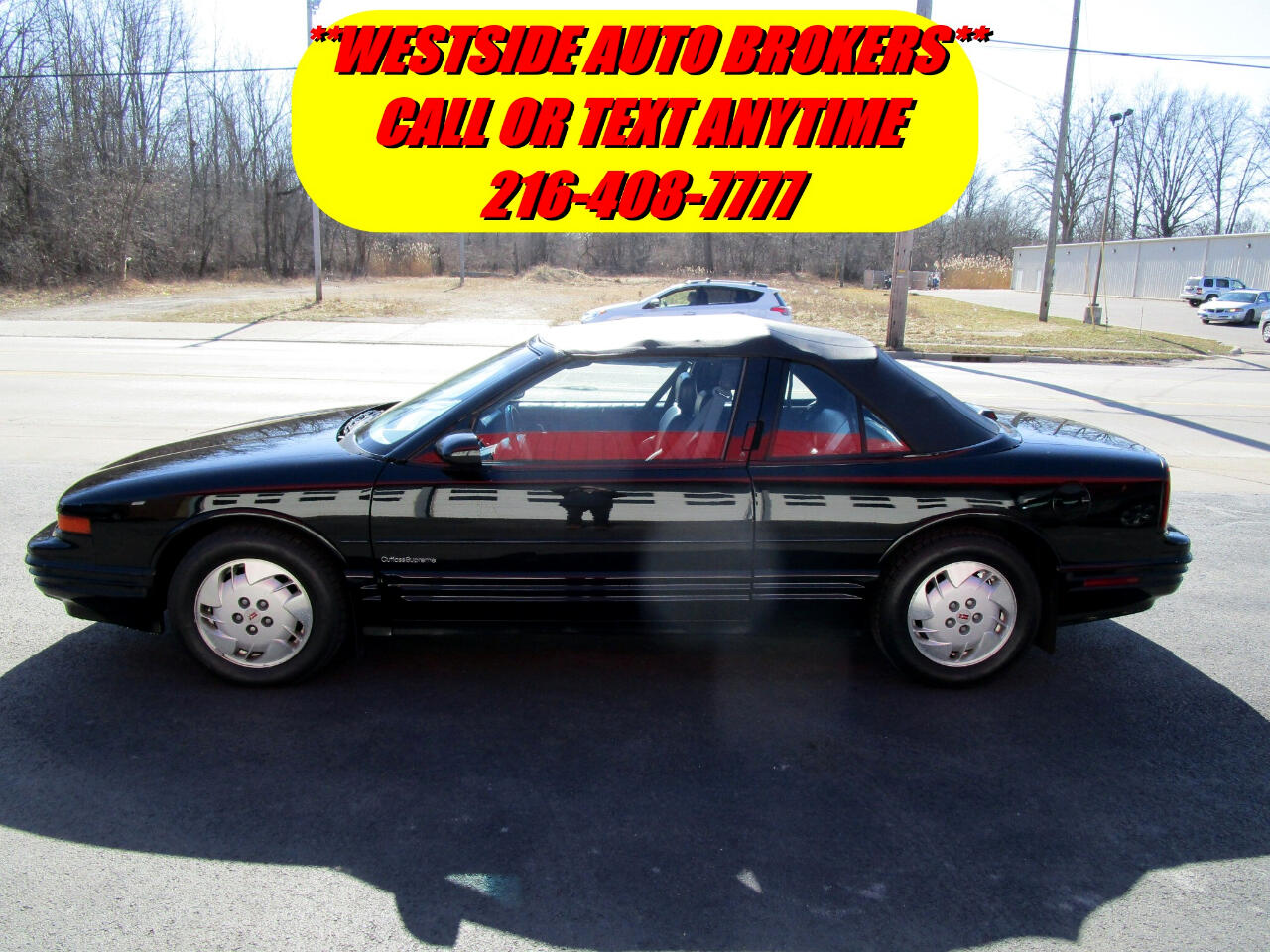 Oldsmobile Cutlass Supreme 2dr Coupe Convertible 1994