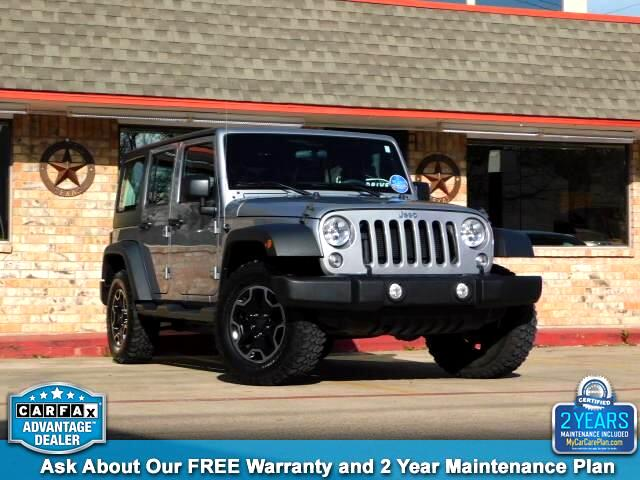 Used jeep wrangler unlimited for sale tyler tx cargurus 2015 jeep wrangler unlimited sport sciox Images