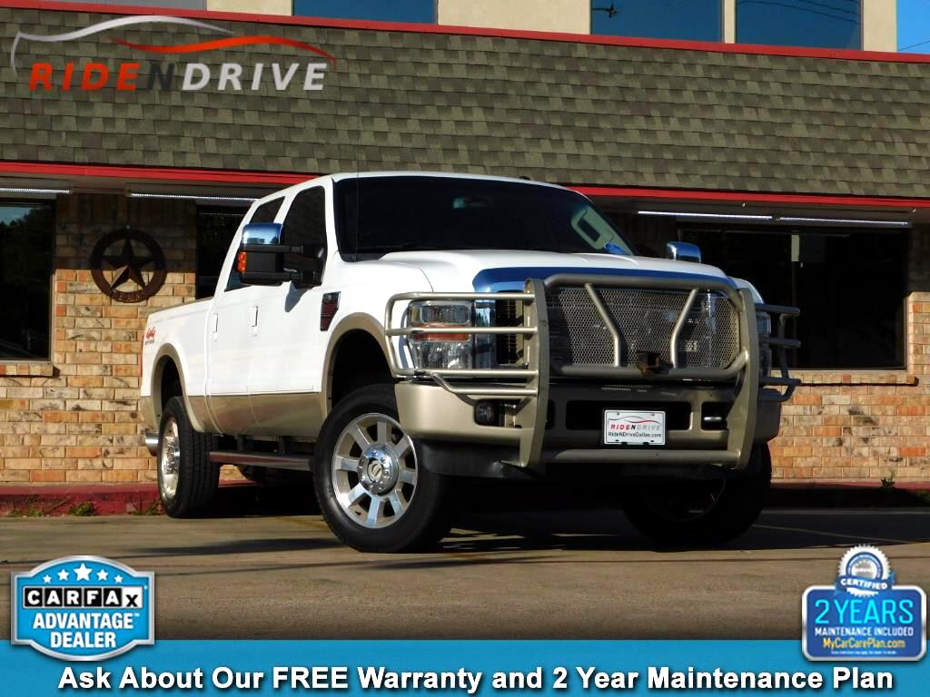 2009 Ford F-250 SD King Ranch Crew Cab 4WD SB