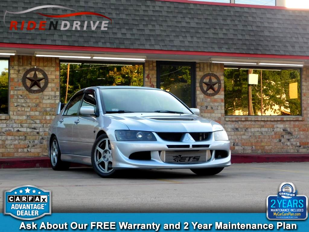 2005 Mitsubishi Lancer 4dr Sdn Evolution VIII Manual
