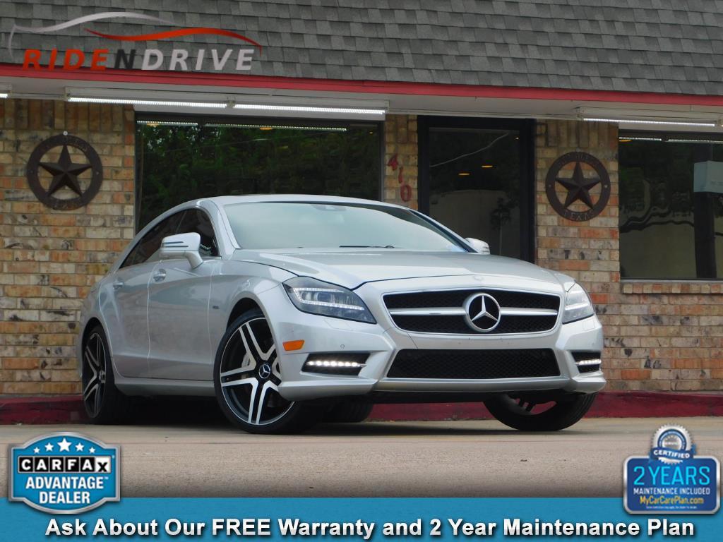 2012 Mercedes-Benz CLS-Class 4dr Sdn CLS 550 RWD