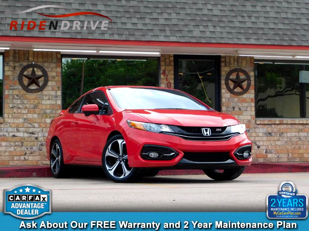 2015 Honda Civic Coupe 2dr Man Si w/Summer Tires