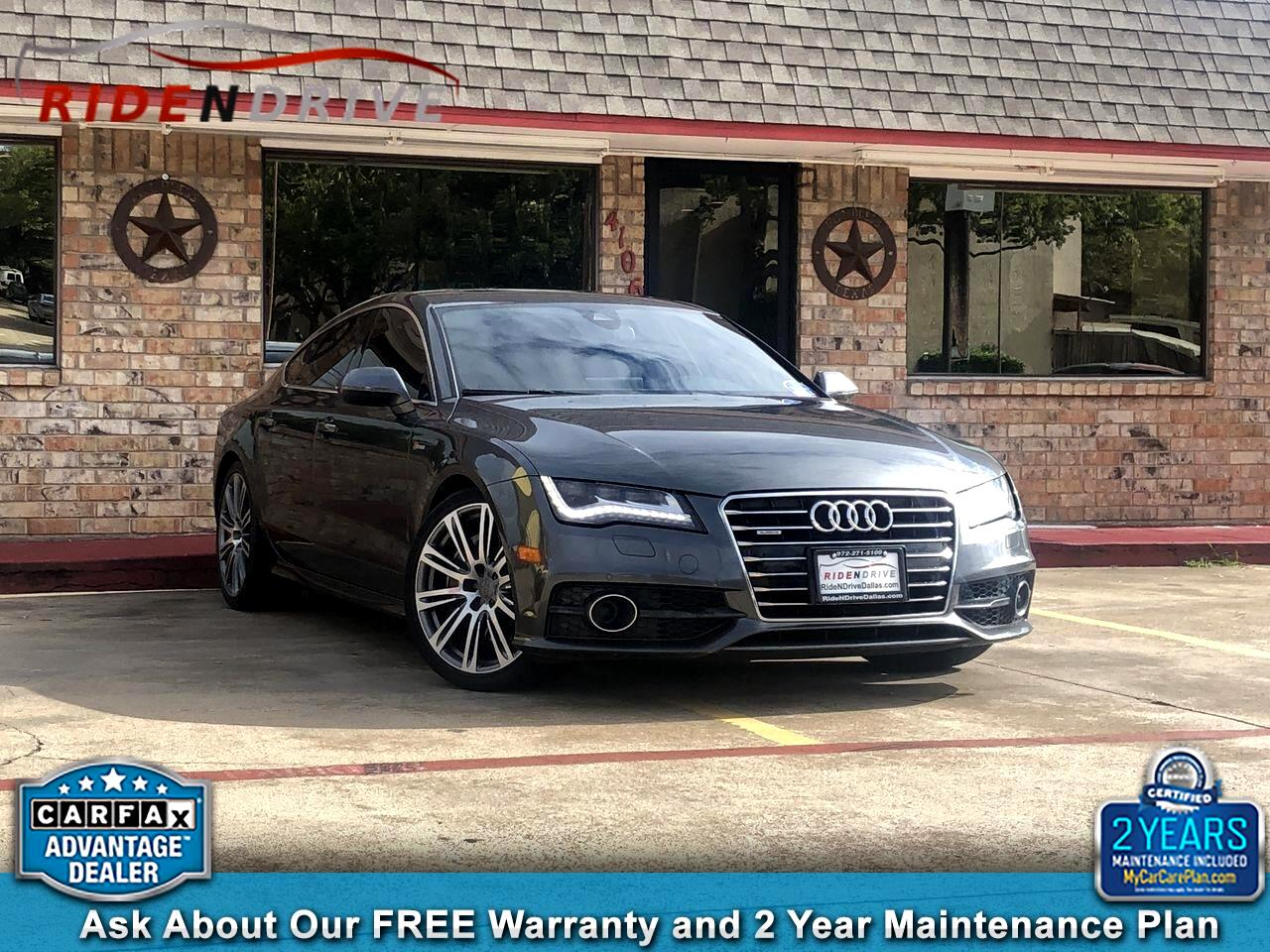 2012 Audi A7 4dr HB quattro 3.0 Prestige